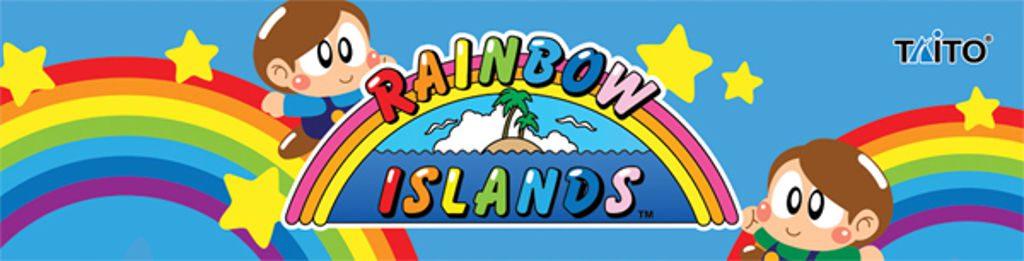 Arcade Rainbow Island Marquee